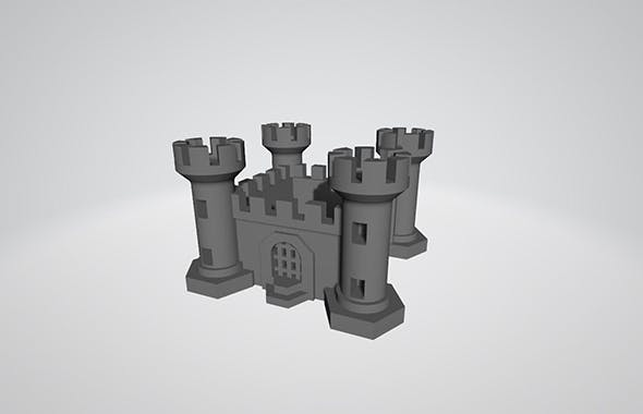Stronghold for 3D Print and Board Games - 3DOcean Item for Sale