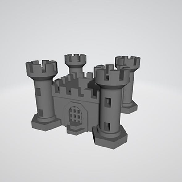 Stronghold for 3D Print and Board Games