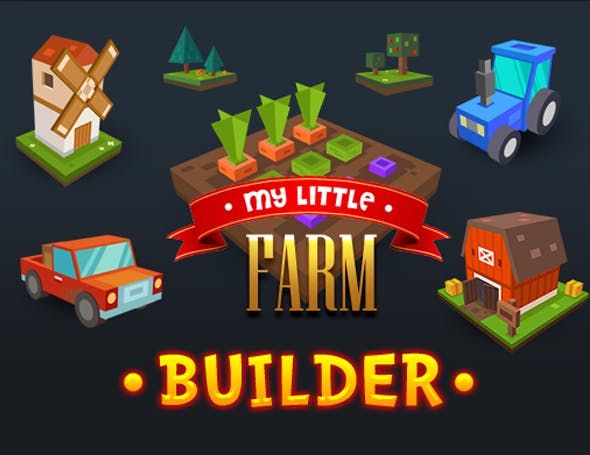 My Little Farm - 3DOcean Item for Sale