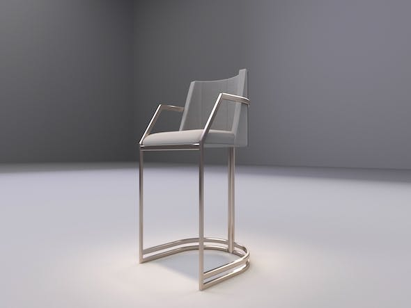 Bar Stool - 3DOcean Item for Sale