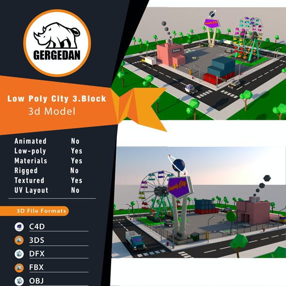 Low Poly City 3.Block