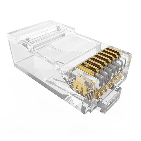 Lan Connector - 3DOcean Item for Sale