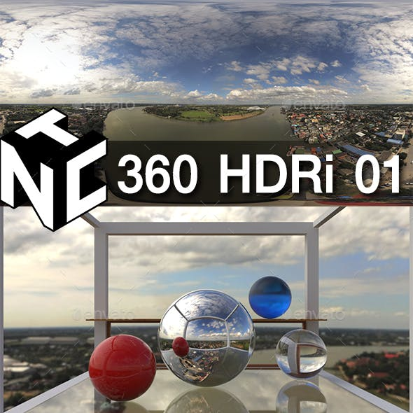 360 Aerial HDRi 01 - Bangkok