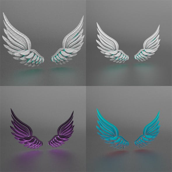Wings - 3DOcean Item for Sale