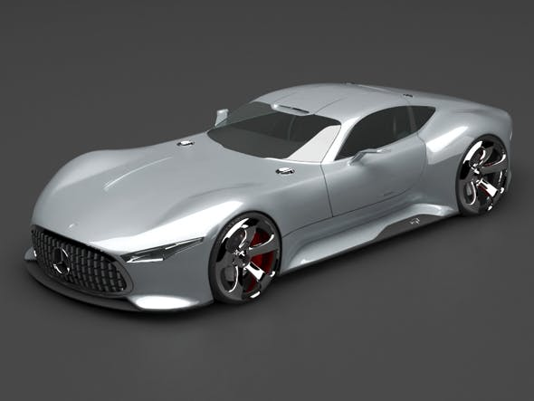 Mercedes concept - 3DOcean Item for Sale