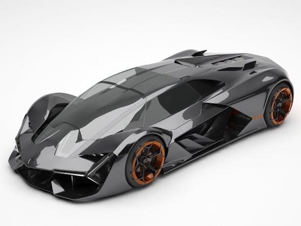 Lamborghini Terzo Millennio - 3DOcean Item for Sale