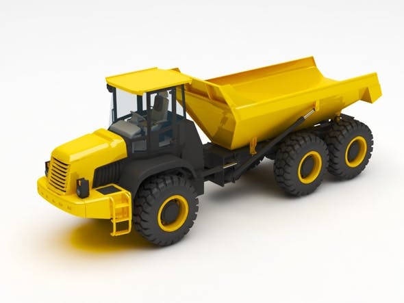 dump truck - 3DOcean Item for Sale