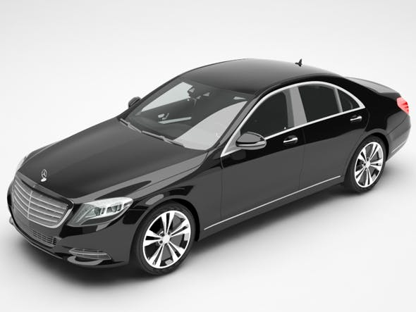 Mercedes - 3DOcean Item for Sale