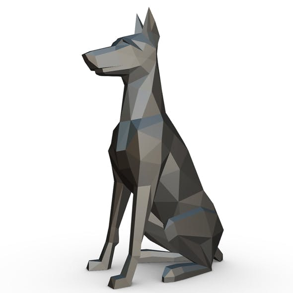doberman figure