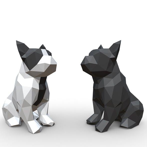 French Bulldog Figure