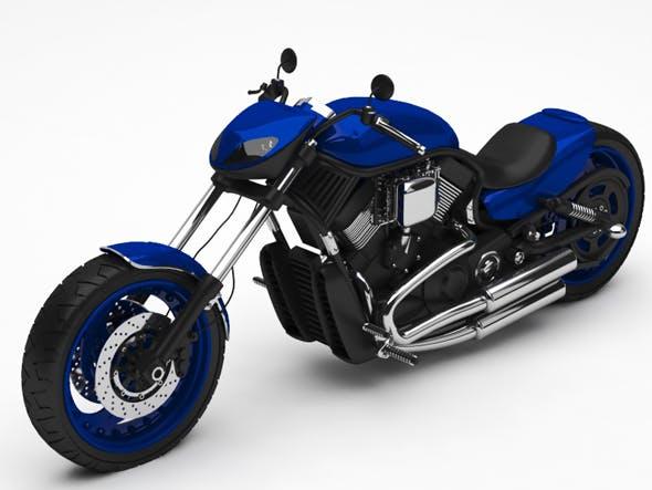 Motorcycle - 3DOcean Item for Sale