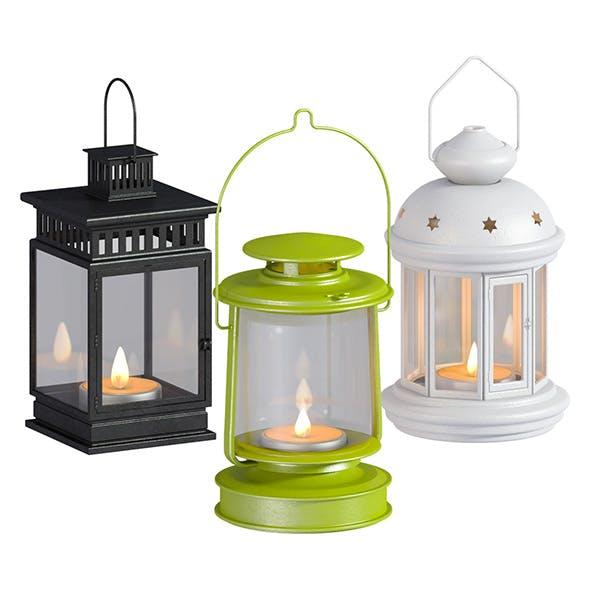 L3DV04G02 - nightlights set - 3DOcean Item for Sale