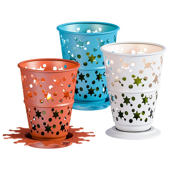 L3DV04G05 - candles and candlesticks set - 3DOcean Item for Sale