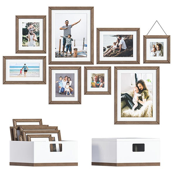 L3DV05G03 - photoframes and posters set - 3DOcean Item for Sale