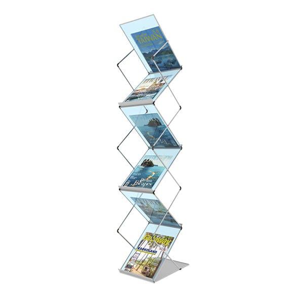 Folding Brochure Stand1  3D model.