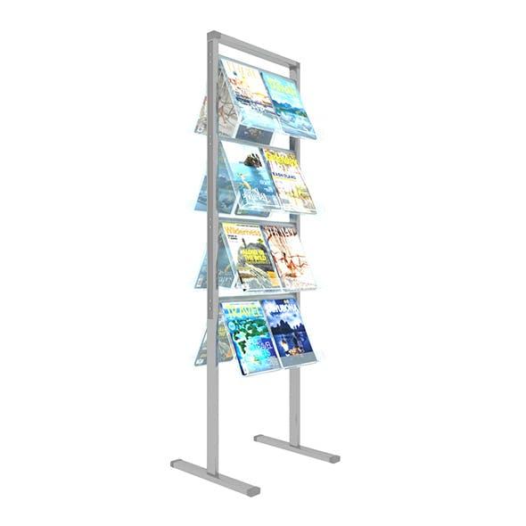 Folding Brochure Stand2 3D model.