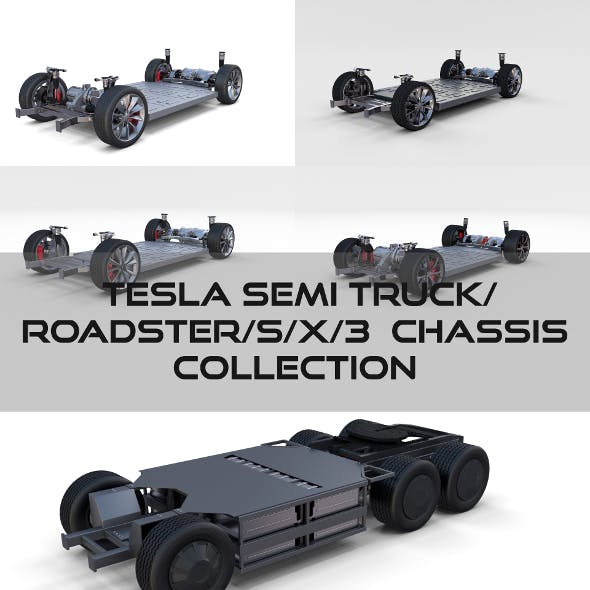Tesla Chassis Pack(Semi Roadster Model S X 3)