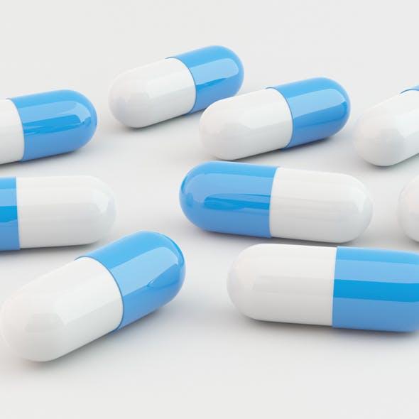 Blue Pills - 3DOcean Item for Sale