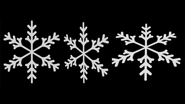 Snowflake7 - 3DOcean Item for Sale