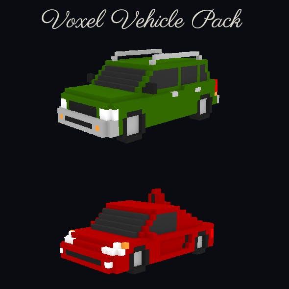 Basic Voxel Vehicle Pack