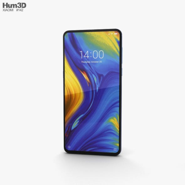 Xiaomi Mi Mix 3 Sapphire Blue - 3DOcean Item for Sale