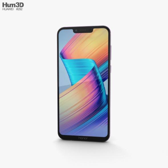 Huawei Honor Play Violet - 3DOcean Item for Sale