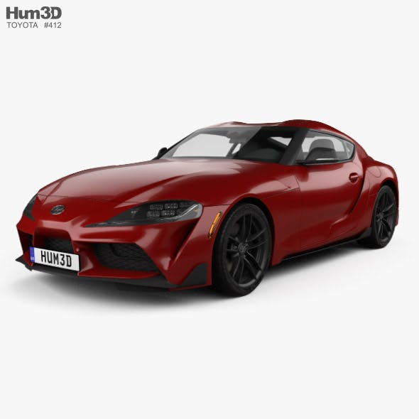 Toyota Supra US-spec 2019 - 3DOcean Item for Sale