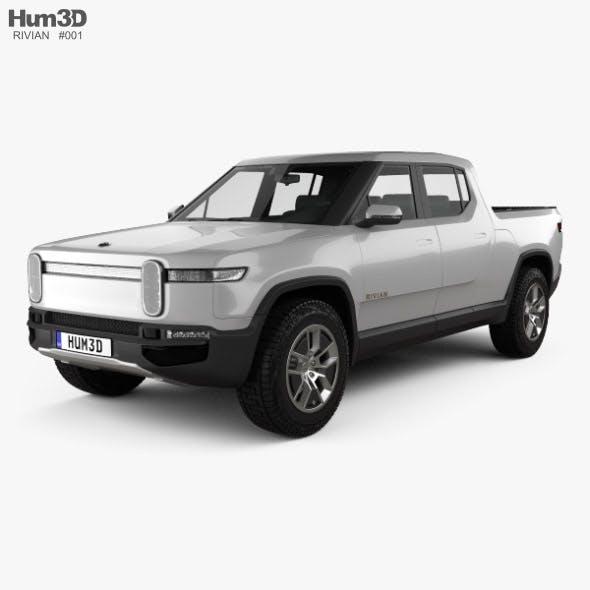 Rivian R1T 2018 - 3DOcean Item for Sale