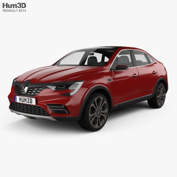 Renault Arkana 2018 - 3DOcean Item for Sale