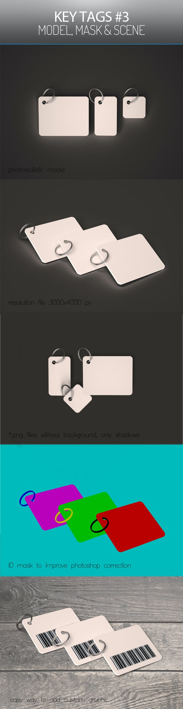 Key Tags 3 - 3DOcean Item for Sale