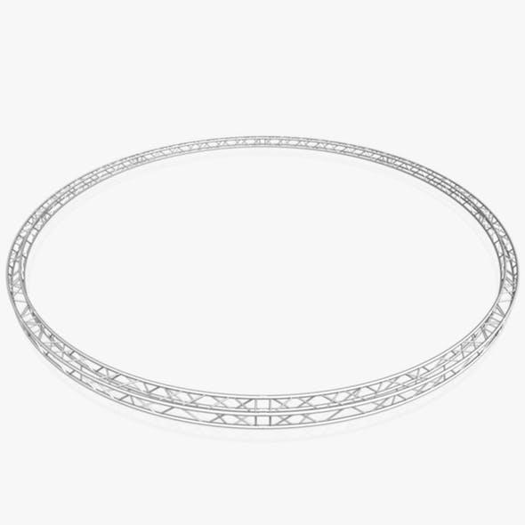 Circle Square Truss - Full diameter 1000cm - 3DOcean Item for Sale
