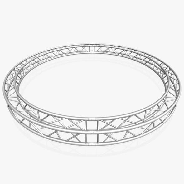 Circle Square Truss - Full diameter 400cm - 3DOcean Item for Sale