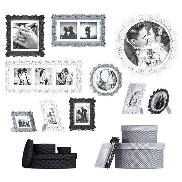 L3DV05G05 - photoframes and posters set - 3DOcean Item for Sale