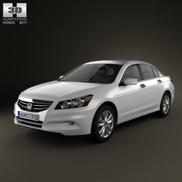 Honda Accord Sedan 2012 - 3DOcean Item for Sale
