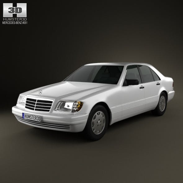 Mercedes-Benz S-class (W140) 1999 - 3DOcean Item for Sale