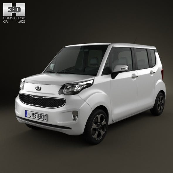 Kia Ray 2012 - 3DOcean Item for Sale
