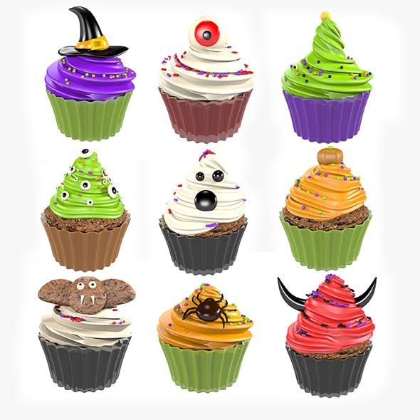 Halloween Cupcake Set