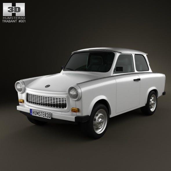 Trabant 601 Sedan 1963 - 3DOcean Item for Sale