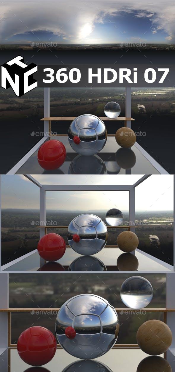 Full spherical 360 HDRi Morning view 07 - 3DOcean Item for Sale