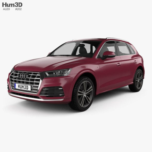 Audi Q5 L S-line CN-spec 2018 - 3DOcean Item for Sale