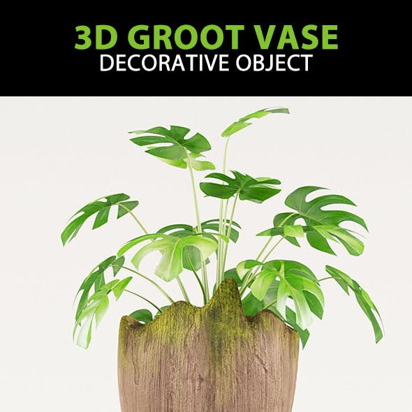 Vase Groot 3D | Guardians of the Galaxy