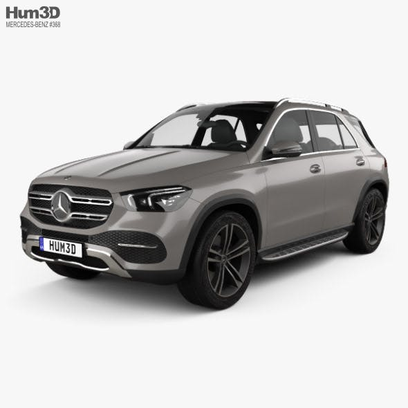 Mercedes-Benz GLE-class 2019 - 3DOcean Item for Sale