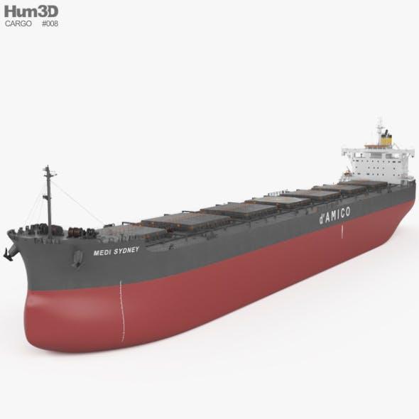 Kamsarmax Bulk Carrier - 3DOcean Item for Sale