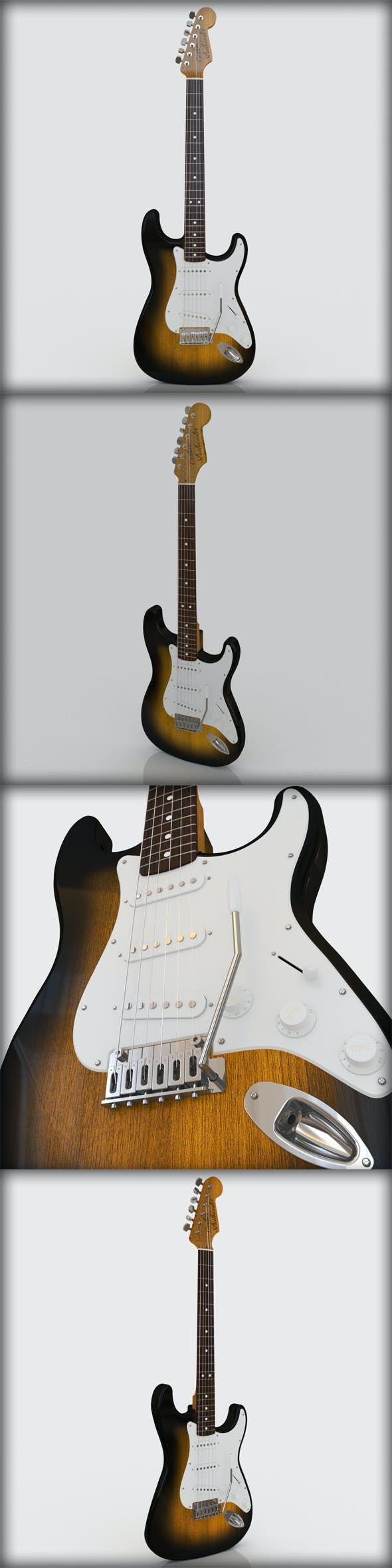 VRay Stratocaster - 3DOcean Item for Sale