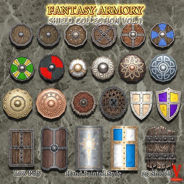 Medieval Fantasy Shield Collection Vol.01