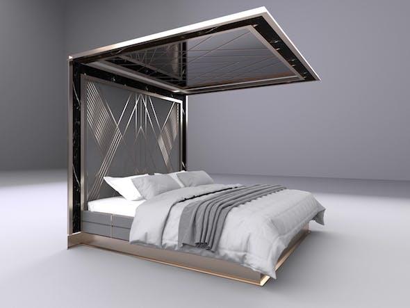 Master Bed Design - 3DOcean Item for Sale