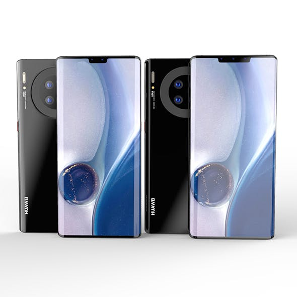 Huawei Mate 30--Huawei Mate 30 Pro SET ELEMENT 3D - 3DOcean Item for Sale