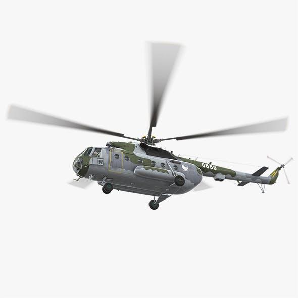 Mi-17 Czech Air Force Animated