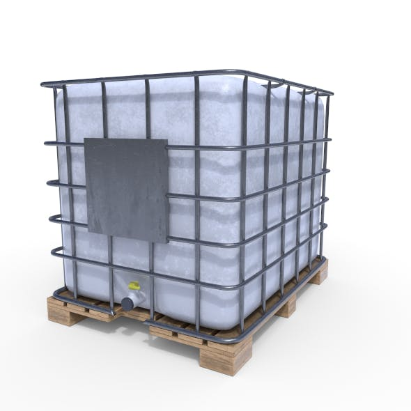 IBC Container - 3DOcean Item for Sale