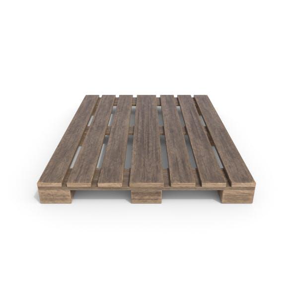 Wooden Pallet 1 - 3DOcean Item for Sale